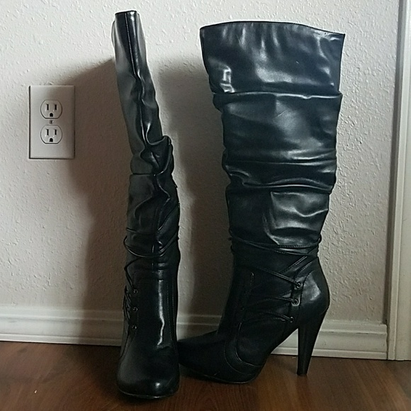 Cute knee boots